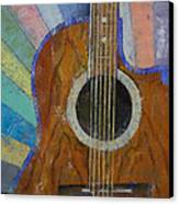 Guitar Sunshine Canvas Print by Michael Creese