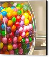 Gumball Machine Canvas Print by Artist and Photographer Laura Wrede