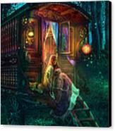 Gypsy Firefly Canvas Print by Aimee Stewart