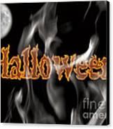 Halloween Canvas Print by Angela Pelfrey