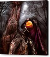 Halloween - The Headless Horseman Canvas Print by Mike Savad