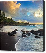 Hana Clouds Canvas Print by Inge Johnsson