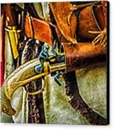 Hand Gun Canvas Print by Louis Dallara
