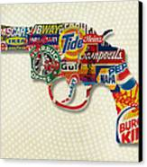 Handgun Logos Canvas Print by Gary Grayson