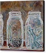 Handymans Preserves Canvas Print by Jenny Armitage