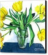 Happy Spring Canvas Print by Barbara Jewell