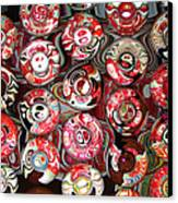 Hard Candies Canvas Print by Wendy J St Christopher
