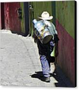 Hard Work Canvas Print by Douglas J Fisher