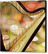 Harp Canvas Print by Cheryl Young
