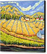 Harvest St Germain Quebec Canvas Print by Patricia Eyre