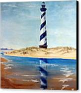 Hatteras Lighthouse Canvas Print by Lee Piper