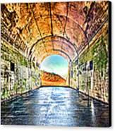 Hawk Hill Tunnel Canvas Print by Robert Rus