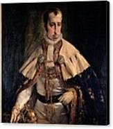 Hayez Francesco, Portrait Of Emperor Canvas Print by Everett