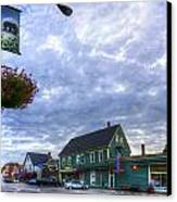 Hdr Sussex Broad Street Sharps Sky Canvas Print by Jamie Roach
