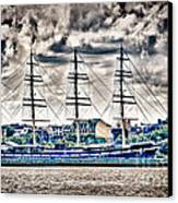 Hdr Tall Ship Boat Pirate Sail Sailing Photography Gallery Art Image Photo Buy Sell Sale Picture  Canvas Print by Pictures HDR