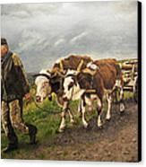 Heading Home Canvas Print by Deborah Strategier