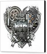 Heart Canvas Print by Diuno Ashlee