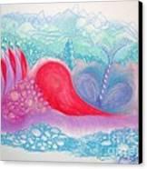 Heart Land Canvas Print by Mademoiselle Francais