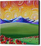 Heaven On Earth Canvas Print by Cindy Thornton