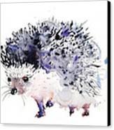 Hedgehog Canvas Print by Kristina Bros