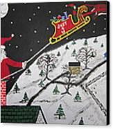 Help Santa's Stuck Canvas Print by Jeffrey Koss