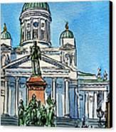 Helsinki Finland Canvas Print by Irina Sztukowski