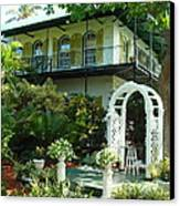 Hemingway House Canvas Print by Kay Gilley