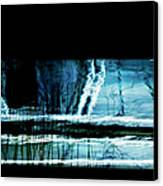 Her Watery Grave Canvas Print by Theresa Tahara