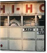 Hi-ho Canvas Print by Peter Veljkovich