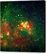 Hidden Nebula Canvas Print by The  Vault - Jennifer Rondinelli Reilly