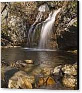 High Falls Talledega National Forest Alabama Canvas Print by Charles Beeler