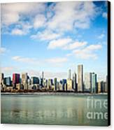 High Resolution Large Photo Of Chicago Skyline Canvas Print by Paul Velgos