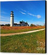 Highland Point Light Canvas Print by Catherine Reusch  Daley