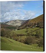 Highlands - Scotland Canvas Print by Mike McGlothlen