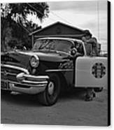 Highway Patrol 4 Canvas Print by Tommy Anderson