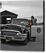 Highway Patrol 5 Canvas Print by Tommy Anderson