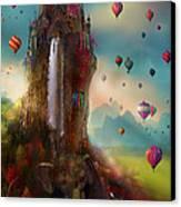 Hinchangtor Canvas Print by Aimee Stewart