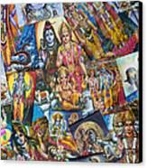 Hindu Deity Posters Canvas Print by Tim Gainey