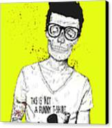 Hipsters Not Dead Canvas Print by Balazs Solti