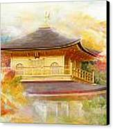 Historic Monuments Of Ancient Kyoto  Uji And Otsu Cities Canvas Print by Catf