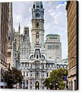 Historic Philly Canvas Print by JC Findley
