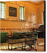 Historic Supreme Court Canvas Print by Olivier Le Queinec