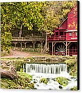 Hodgson Mill Canvas Print by Steven Bateson