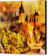 Hogwarts College Canvas Print by George Rossidis