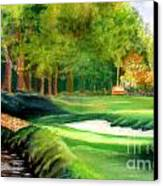 Hole Number10 Canvas Print by Lamarr Kramer