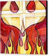 Holy Spirit 2 Canvas Print by Mark Jennings