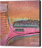Homestead Chev Canvas Print by Jerry McElroy