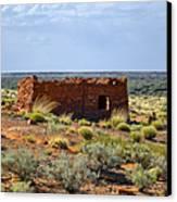 Homolovi Ruins State Park Az Canvas Print by Christine Till