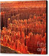 Hoodoos Basin Canvas Print by Robert Bales