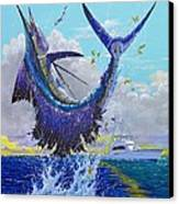 Hooked Up Off004 Canvas Print by Carey Chen
